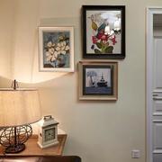 别墅简约风格照片墙装饰