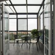 后现代风格简约阳台桌椅装饰
