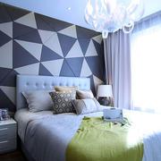 样板房简约风格卧室效果图