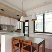 小公寓混搭风格一字型厨房装饰