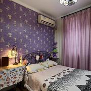 美式别墅简约风格卧室灯饰装饰