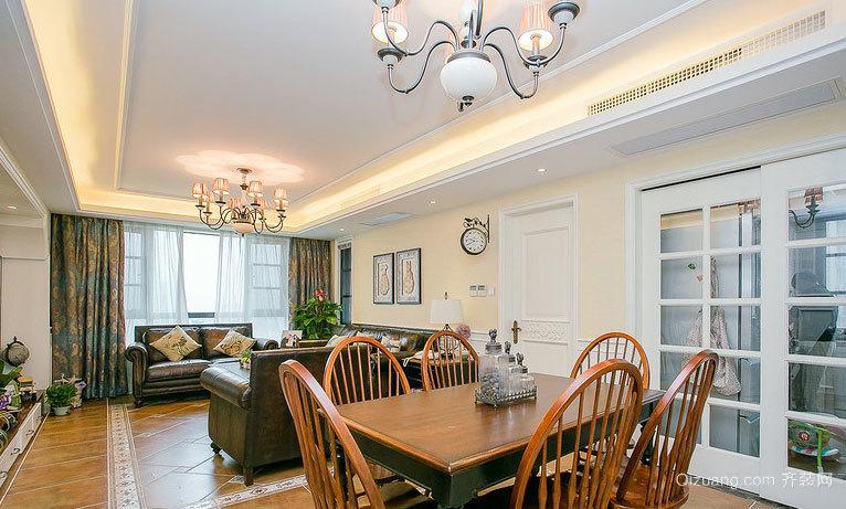 唯一:150平米现代美式简约新房装修效果图