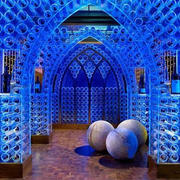 简约风格别墅玻璃酒窖装饰