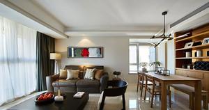 三室一厅北欧风格客厅装饰