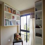 小户型简约风格书房装饰