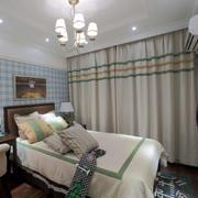 欧式简约风格两室一厅卧室装饰