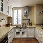 三室一厅简约风格厨房效果图