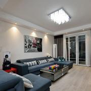 两室两厅简约风格沙发装饰