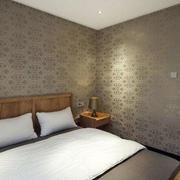 美式朴素风格卧室液体壁纸