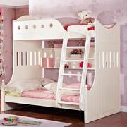 儿童房简约风格白色系上下铺装饰