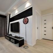 两室两厅简约风格客厅吊顶装饰