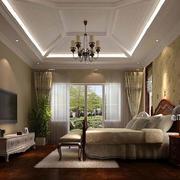 单身公寓美式风格卧室装饰