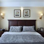 三室一厅简约风格卧室床头灯饰