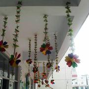 幼儿园简约风格走廊吊顶装饰