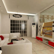 后现代简约风格室内客厅装饰