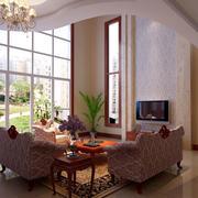 私人别墅欧式简约风格窗户效果图