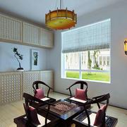 日式简约风格原木榻榻米装饰