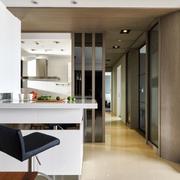 后现代风格新房简约客厅吧台装饰