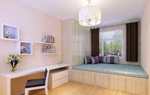 恢复精力的地方:小卧室装修效果图