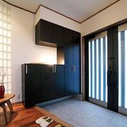 日式简约风格玄关装饰