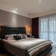 老房简约风格卧室飘窗装饰