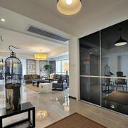 120平米商品房简约风格客厅吊顶装饰