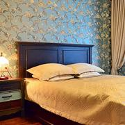 120平米房屋简约卧室背景墙装饰