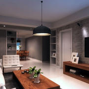 100平米房屋客厅沙发装饰