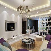 公寓现代简约风格吊顶装饰