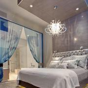 简约风格创意卧室吊顶装饰