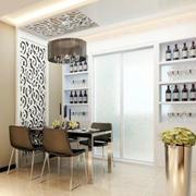 欧式客厅酒柜设计