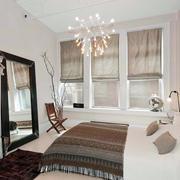 都市风格简约卧室飘窗装饰