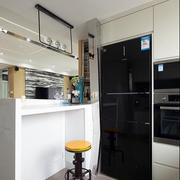 后现代风格别墅厨房吧台装饰
