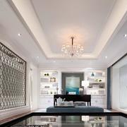 跃层欧式简约风格卧室背景墙