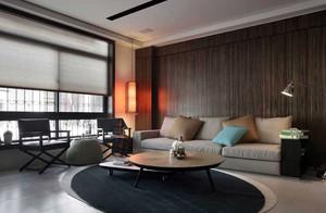 跃层简约风格客厅装饰