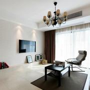 三室两厅简约风格飘窗装饰