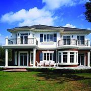现代简约风格别墅外观图