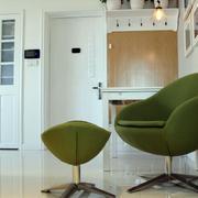 小户型后现代风格客厅桌椅装饰
