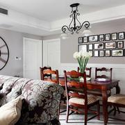 婚房简约风格餐厅背景墙装饰