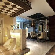 公寓酒柜吧台创意椅子设计