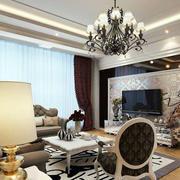 欧式奢华印花电视背景墙装饰
