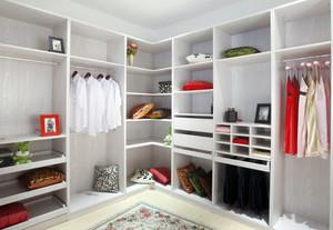 现代简约风格白色衣柜装饰