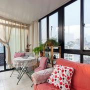 混搭风格阳台沙发装饰