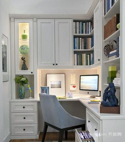 书香门第:小书房装修效果图