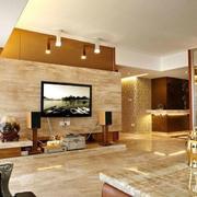 欧式大理石客厅电视背景墙