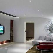 北欧风格简约电视背景墙装饰