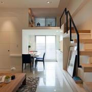 跃层后现代风格客厅装饰