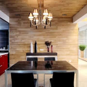 洋楼简约风格餐厅设计
