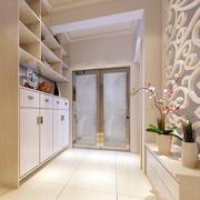 小型别墅简约风格鞋柜装饰