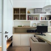 简约风格家庭室内书架装饰